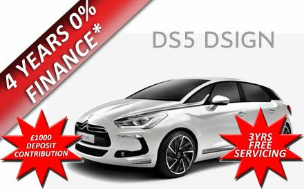 Citroen DS5 DSign 1.6 e-HDi Airdream  EGS6 115PS Auto
