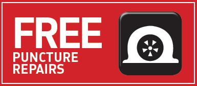 Free Puncture Repairs*