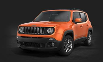 Jeep Renegade 1.4 MultiAir II 140 hp Longitude DDCT Incl Paint