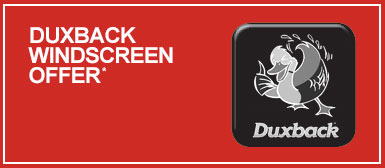 Duxback Windscreen Offer at Preston Motorpark