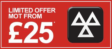 £25 MOT Limited Offer at Doves Volvo