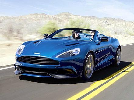 Aston Martin Vanquish Volante Touchtronic