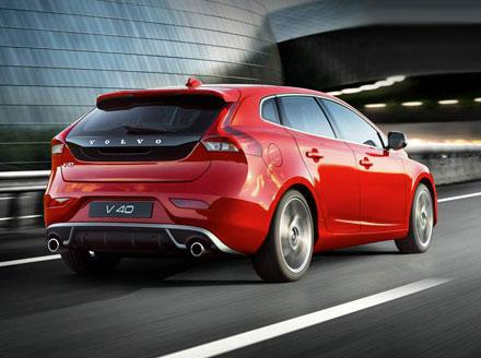 Volvo V40 T2 R Design in Red for £249 per month*
