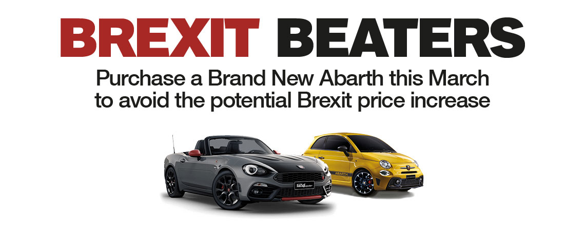 Brexit Beating Abarth Offers
