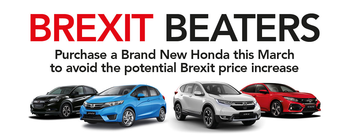 Brexit Beating Honda Offers