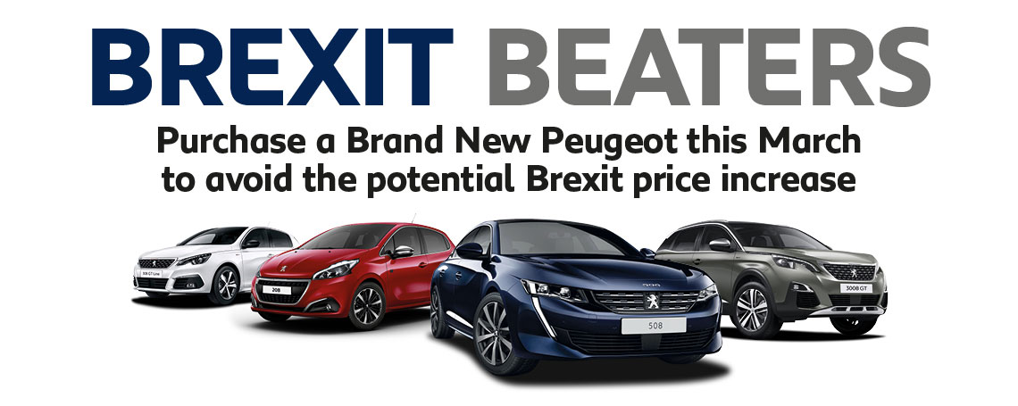 Brexit Beating Peugeot Offers