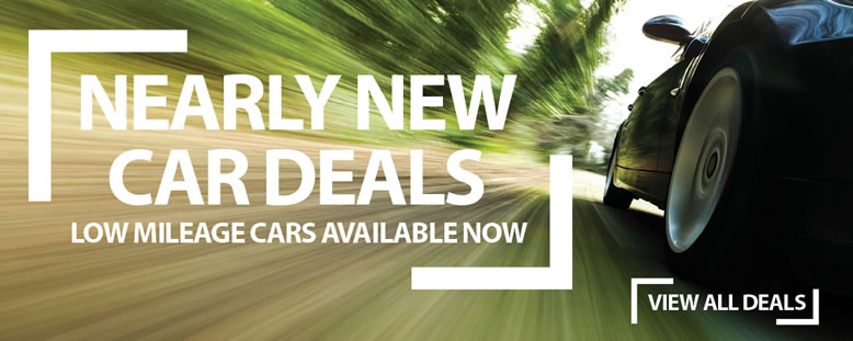 Nearly New Car Deals at Mototrparks
