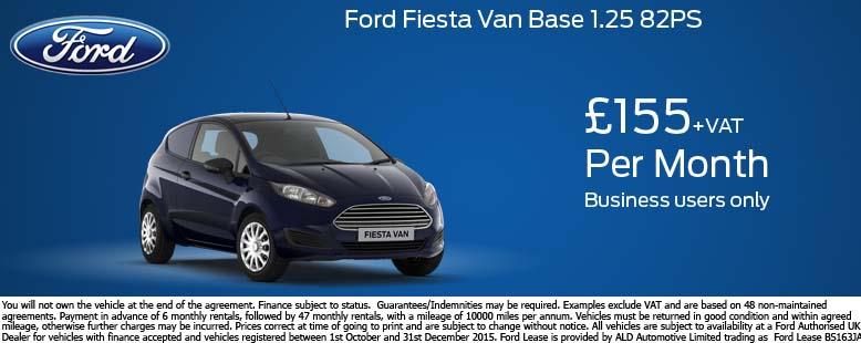 Ford Fiesta Van Trend