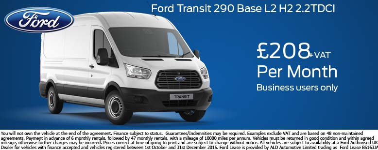 Ford Transit 350 Base Offer