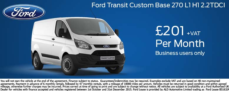 Ford Transit Custom Trend Offer