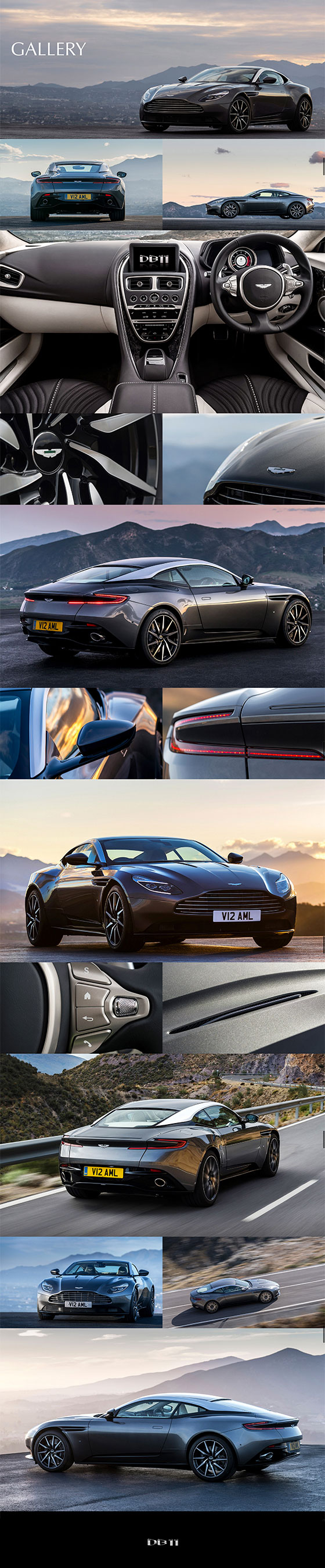 Aston Martin DB11 Gallery