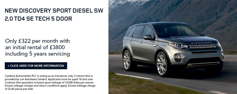 Discovery Sport £299