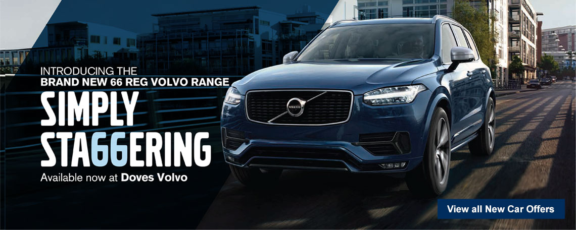 New 66 Plate Volvo Cars