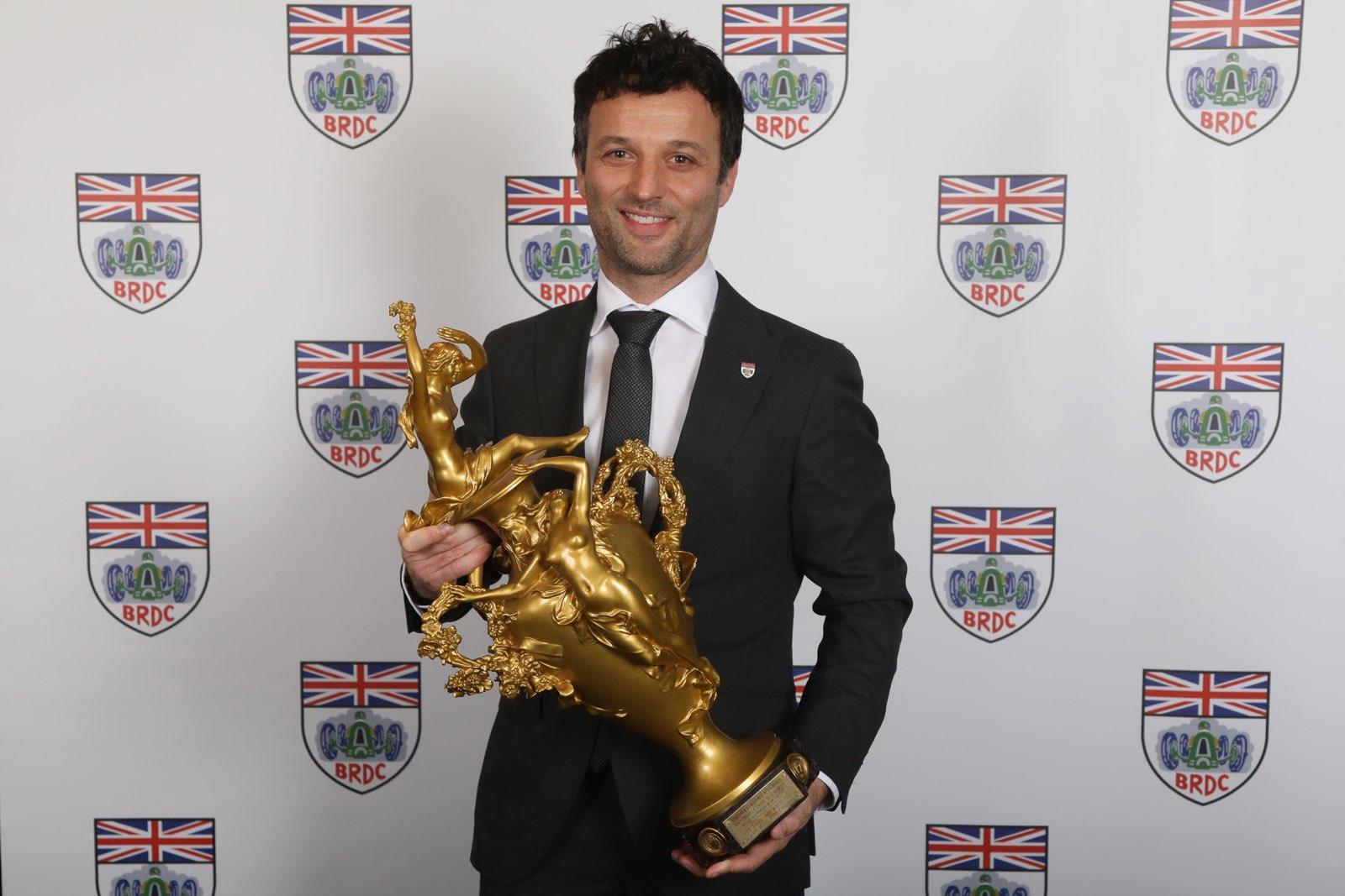 Grange Ambassador Darren Turner receives prestigious BRDC award