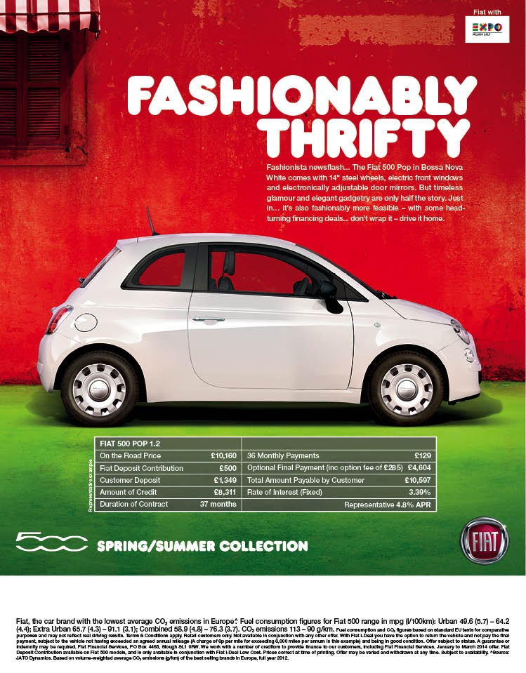 b4b2ccec4c Fiat 500 Spring - Summer Collection