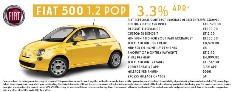 Fiat 500 POP - MAR