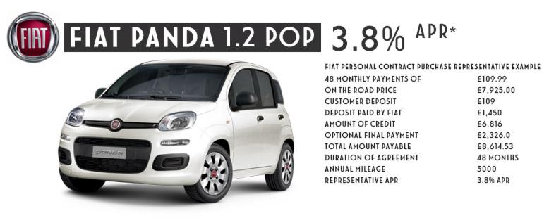 FIAT PANDA POP - MAR