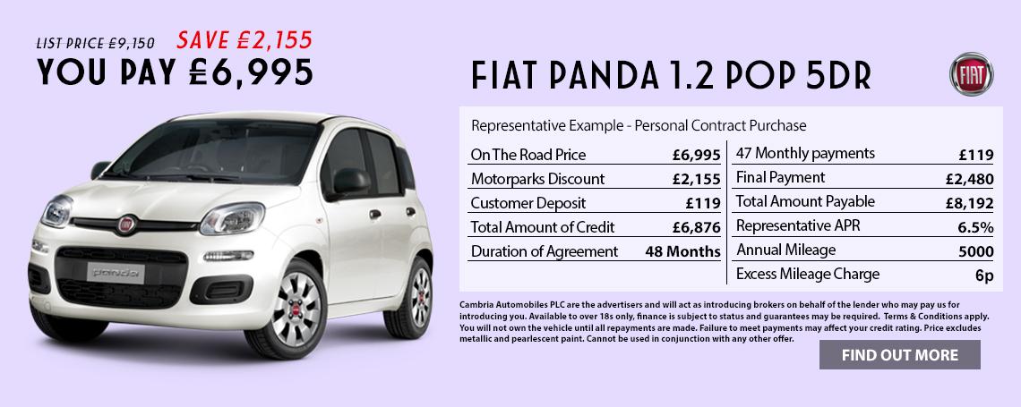 New Fiat Panda Offer