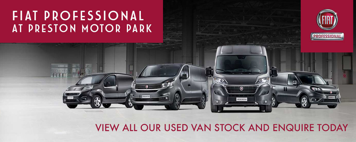 Fiat Professional Vans at Preston Motor Park