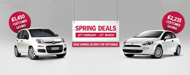 Fiat spring sale event