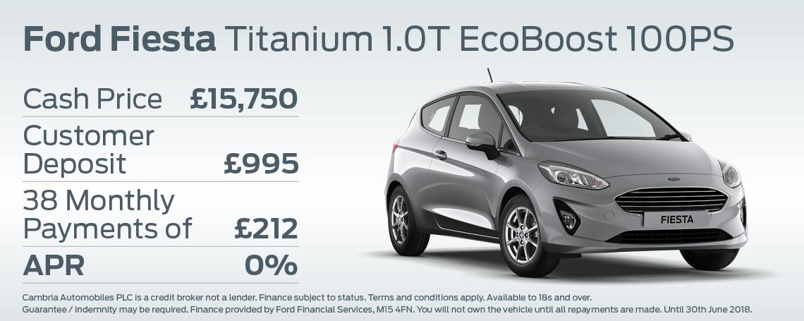 Fiesta Titanium Offer