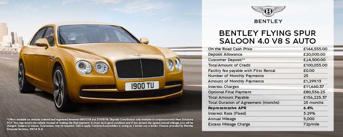 Bentley Flying Spur V8 S Offer