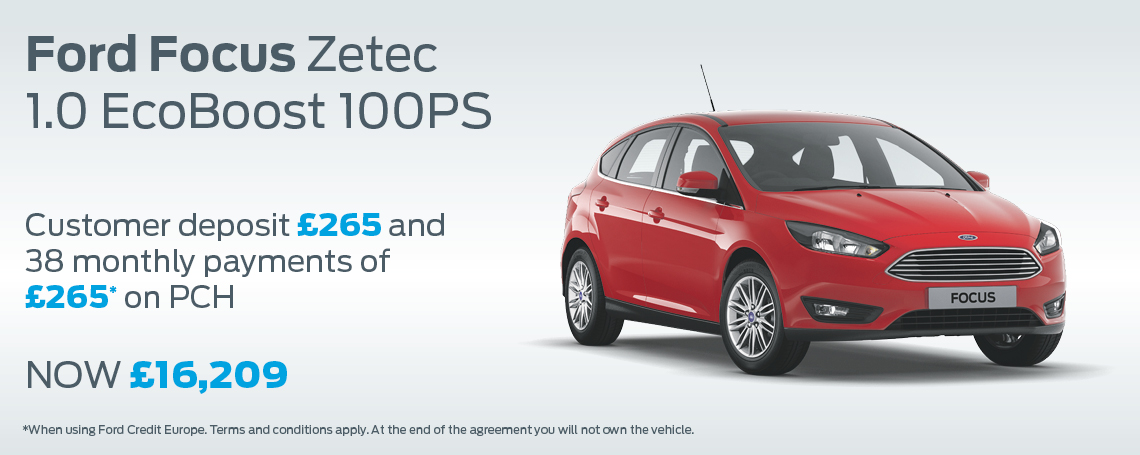 New Ford Focus Offer