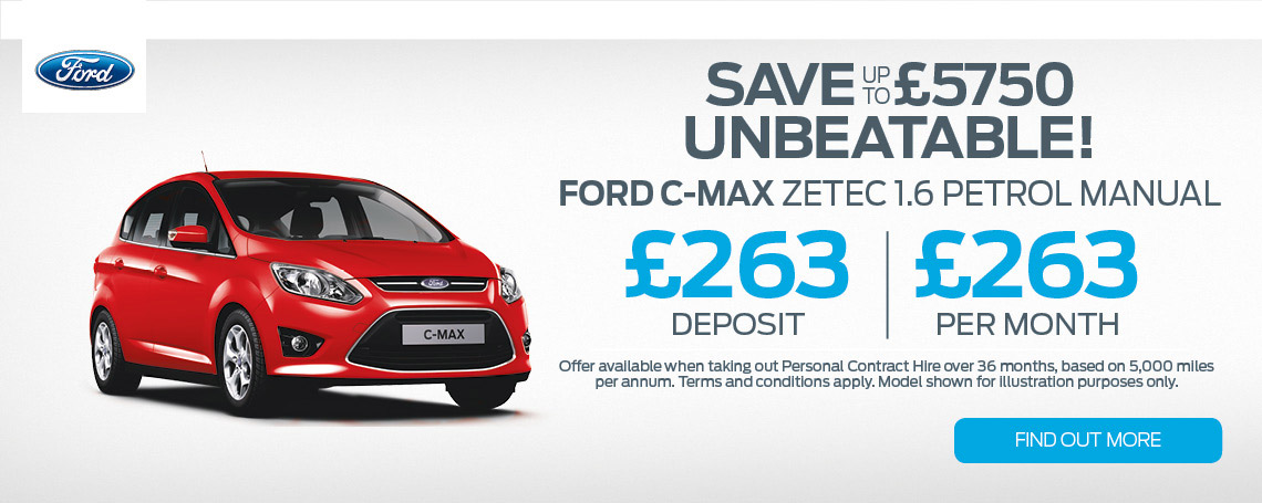 New Ford C-MAX Offer