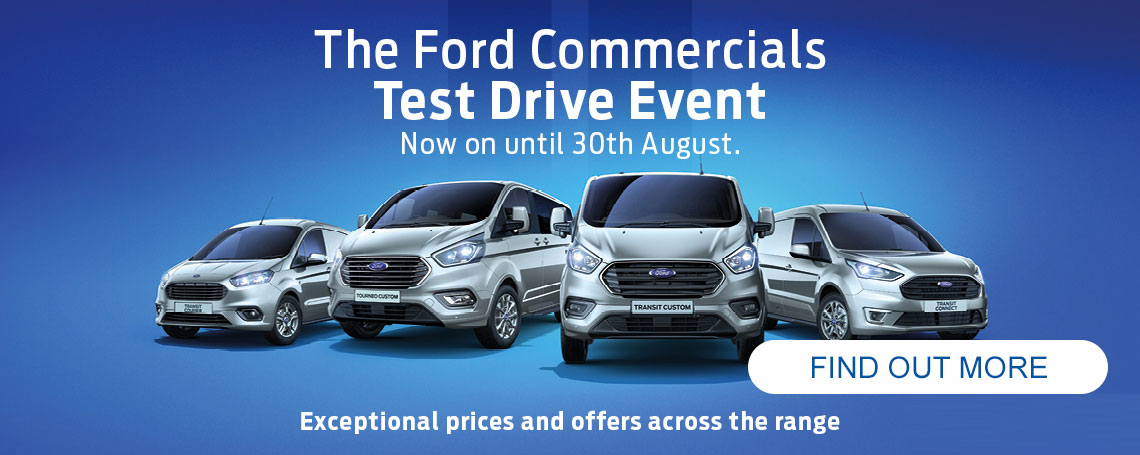 Ford Commercials Test Drive Offer