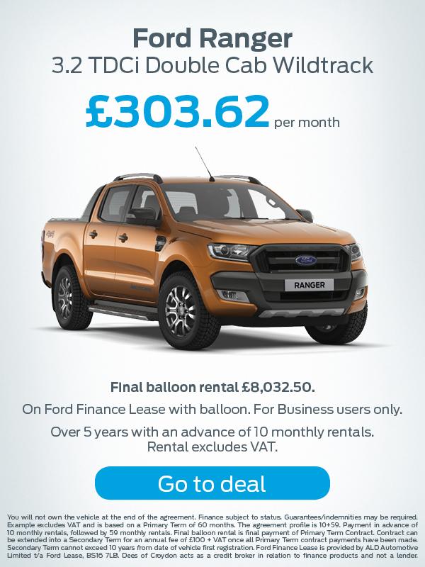 Ford Ranger Offer