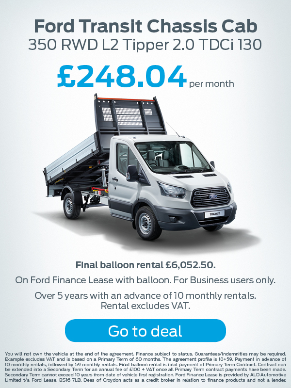Ford Transit Connect Offer
