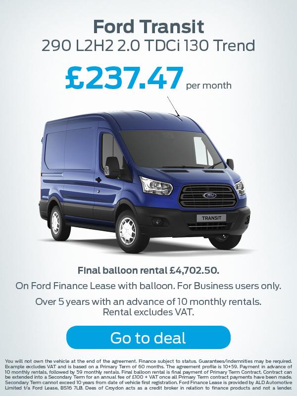 Ford Transit Offer