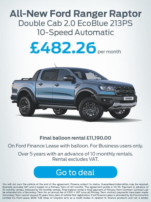 Ford Ranger Raptor Offer