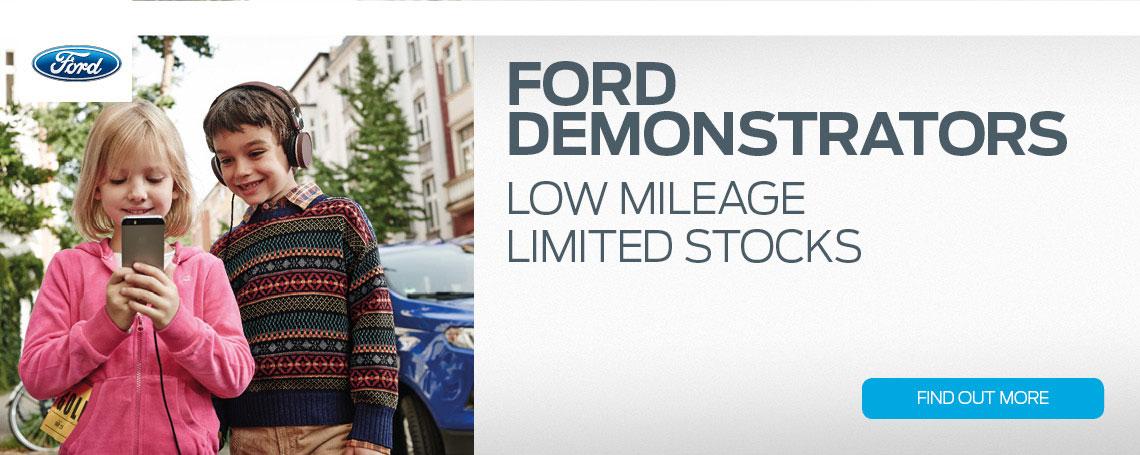 Ford Demo Sale