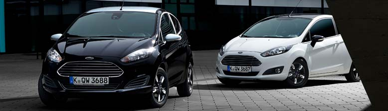 Ford Fiesta And Ka Black And White Editions