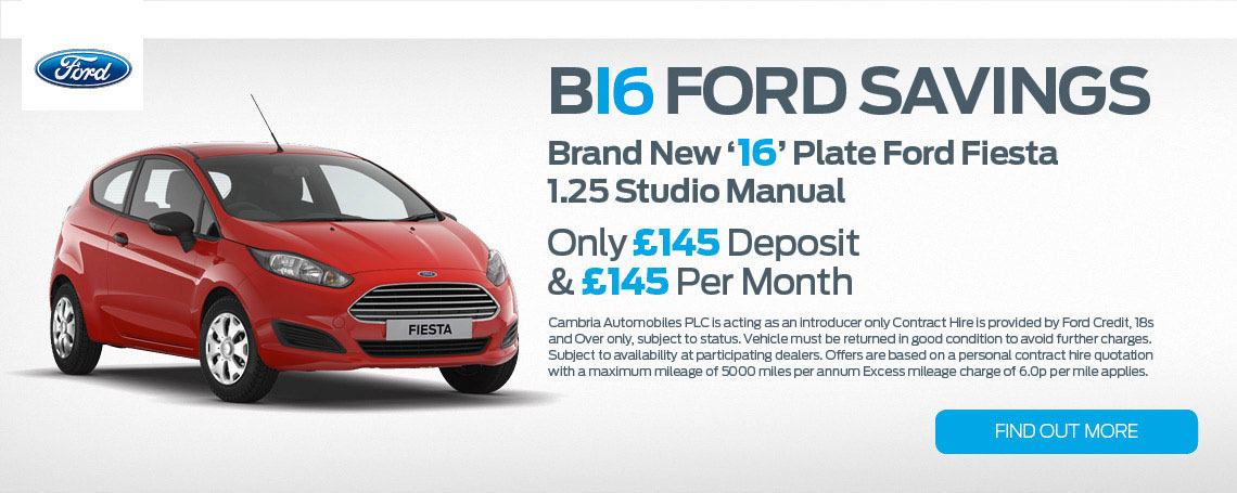 New Ford Fiesta Offer