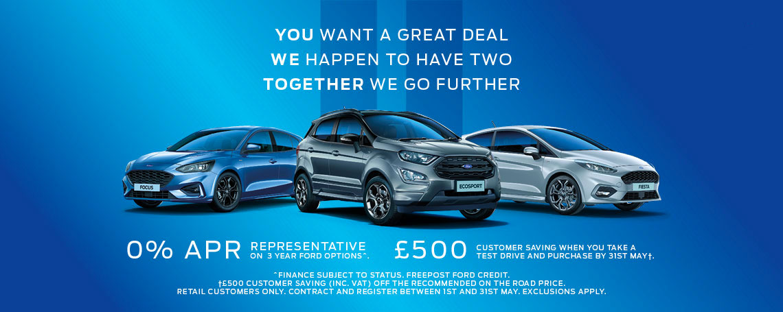 Ford Finance Offers at Motorparks