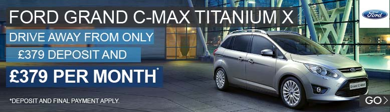 Ford Grand C-Max Titanium X
