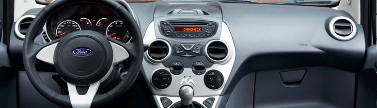 Ford Ka Black And White Edition Dash
