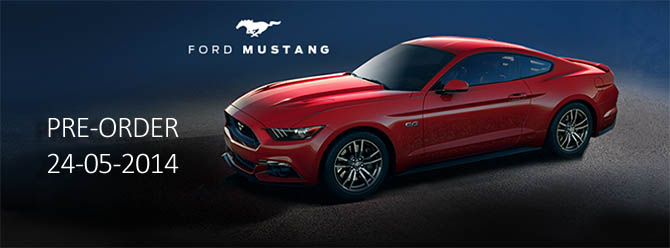 Ford Mustang Pre-Order