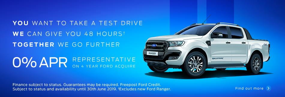 Ford Ranger Test Drive