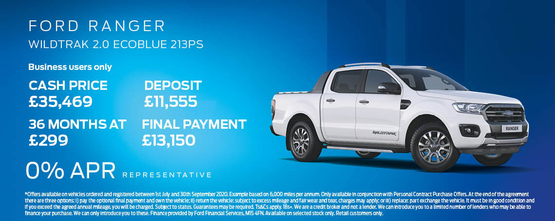 Ford Ranger Offer