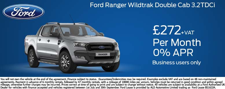Ford Ranger Wildtrak Offer