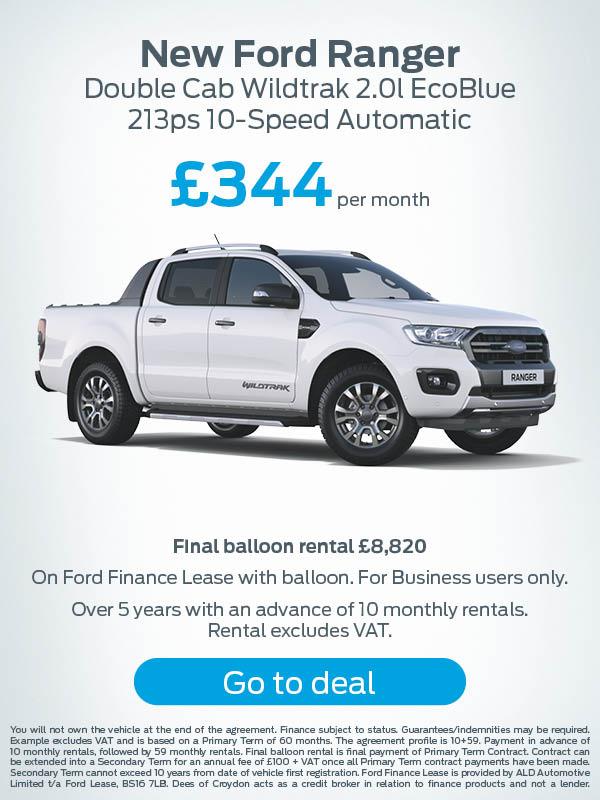 New Ford Ranger Offer