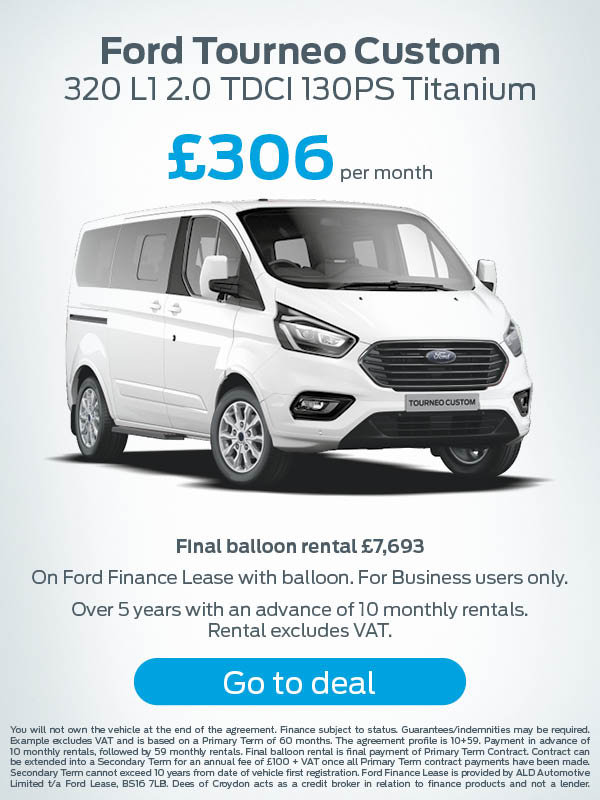 Ford Transit Tourneo Custom Offer