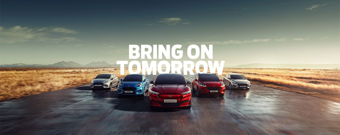 Ford Electric and Hybrid Vehicles at Motorparks