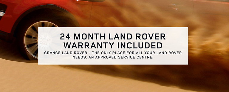 Grange Land Rover Warranty