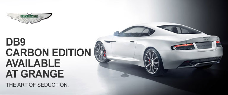 New Aston Martin DB9 Carbon Edition