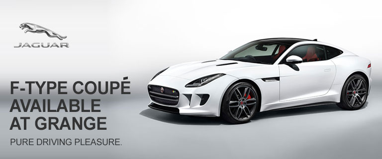 New Jaguar F-TYPE Coupe