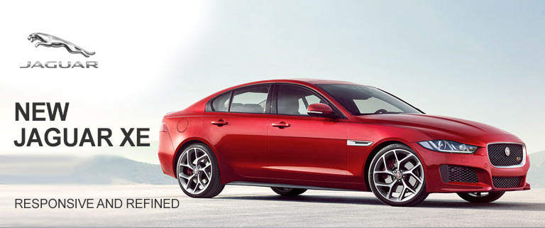 New Jaguar XE